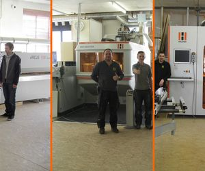 Holzher reference - complete CNC machining, edgebanding - positive experience with HOLZ-HER machines