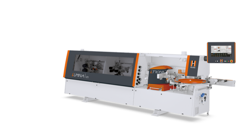 HOLZ-HER LUMINA 1375: Your machine to get started with invisible joints - edgebanding at the highest level.
