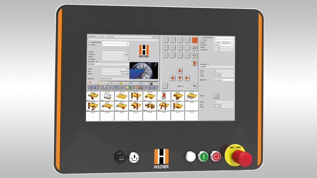 HOLZ-HER PC control - designed to meet the high standards of tomorrow